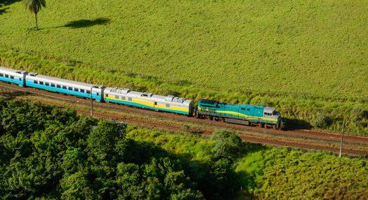 Retorno de trem entre Barão e BH traz alívio para passageiros