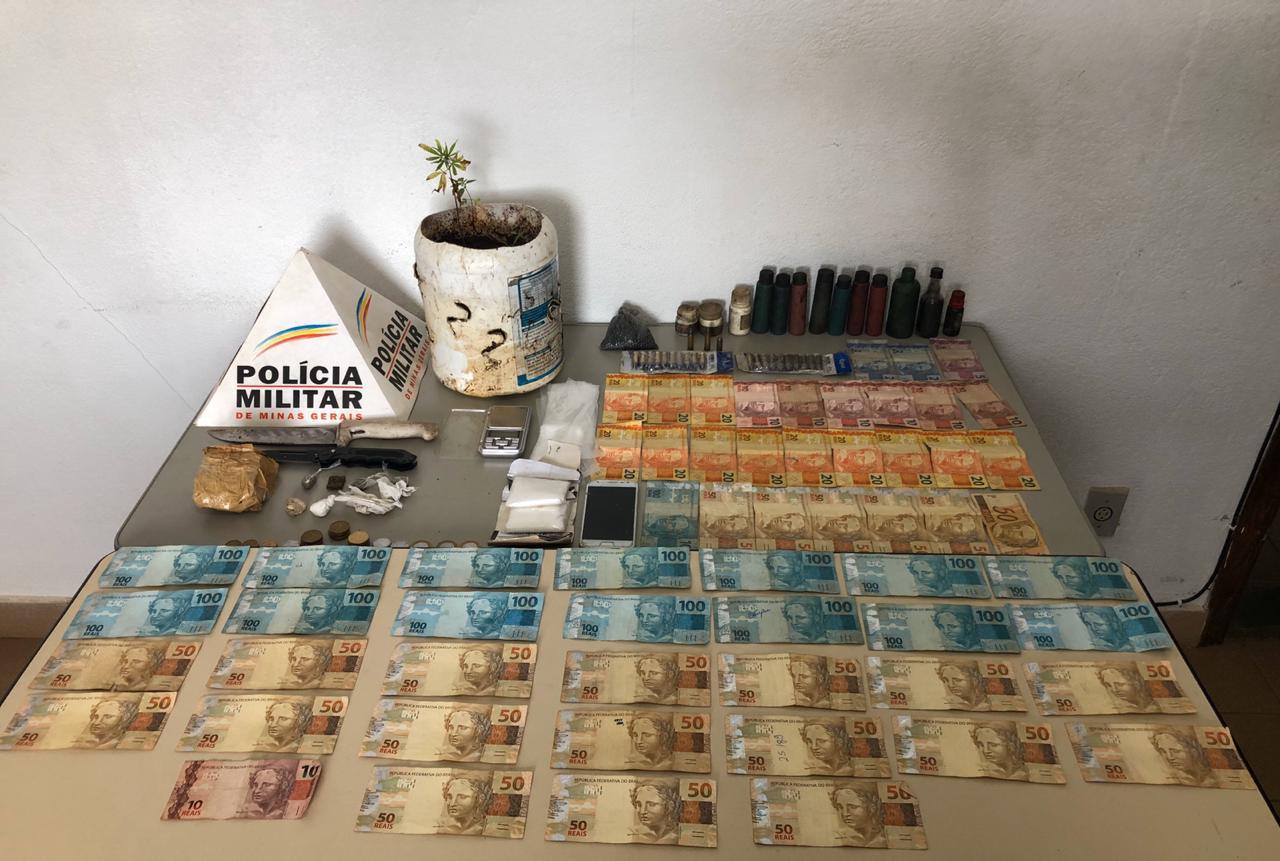 PM prende 5 e apreende armas e drogas em Conceição e outras cinco cidades