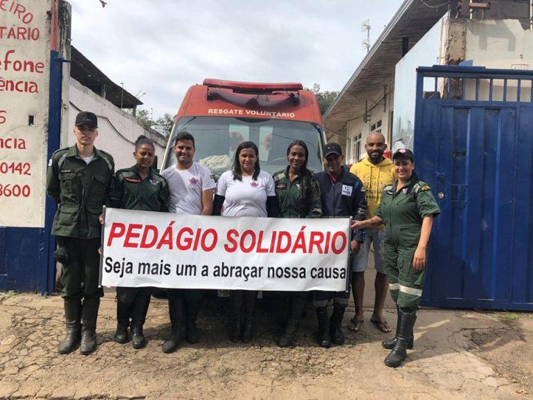 Resgate Voluntário de Barão de Cocais busca doações para manter o serviço