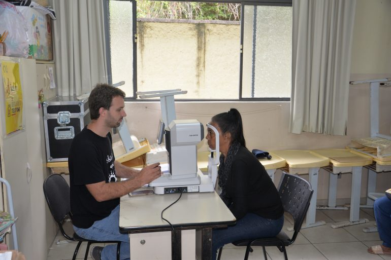 São Gonçalo realiza 400 atendimentos  em mutirão oftalmológico