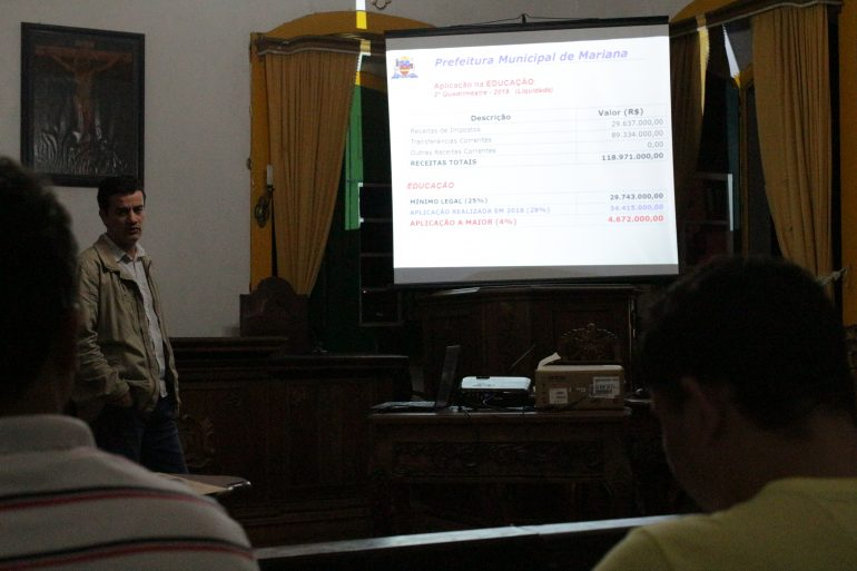 Com mais investimentos em Saúde e Educação, Prefeitura de Mariana apresenta o balanço do 2º Quadrimestre