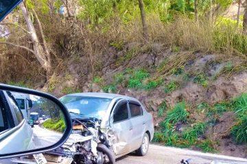 Acidente em trecho da BR-381 deixa trânsito lento nesta manhã de quarta