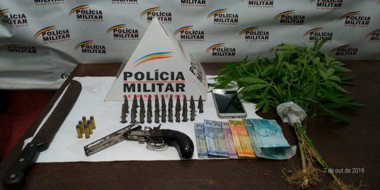 Quatro menores apreendidos por receptação, tráfico e porte ilegal de armas