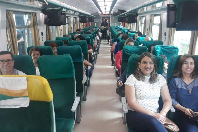 Nos 171 anos de Itabira, cidade ganha nova locomotiva de passageiros até Nova Era
