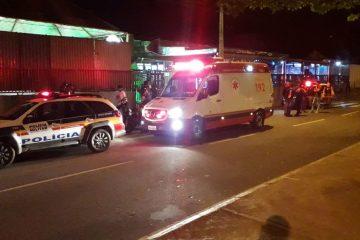 Briga termina com duas pessoas feridas com golpes de garrafa em Itabira