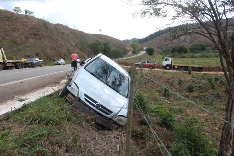 Idoso de 96 anos é socorrido após acidente em Santa Maria de Itabira