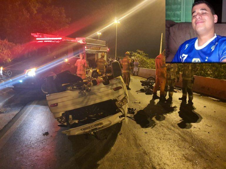 Morador de Bom Jesus morre em acidente envolvendo ex-jogador de futebol