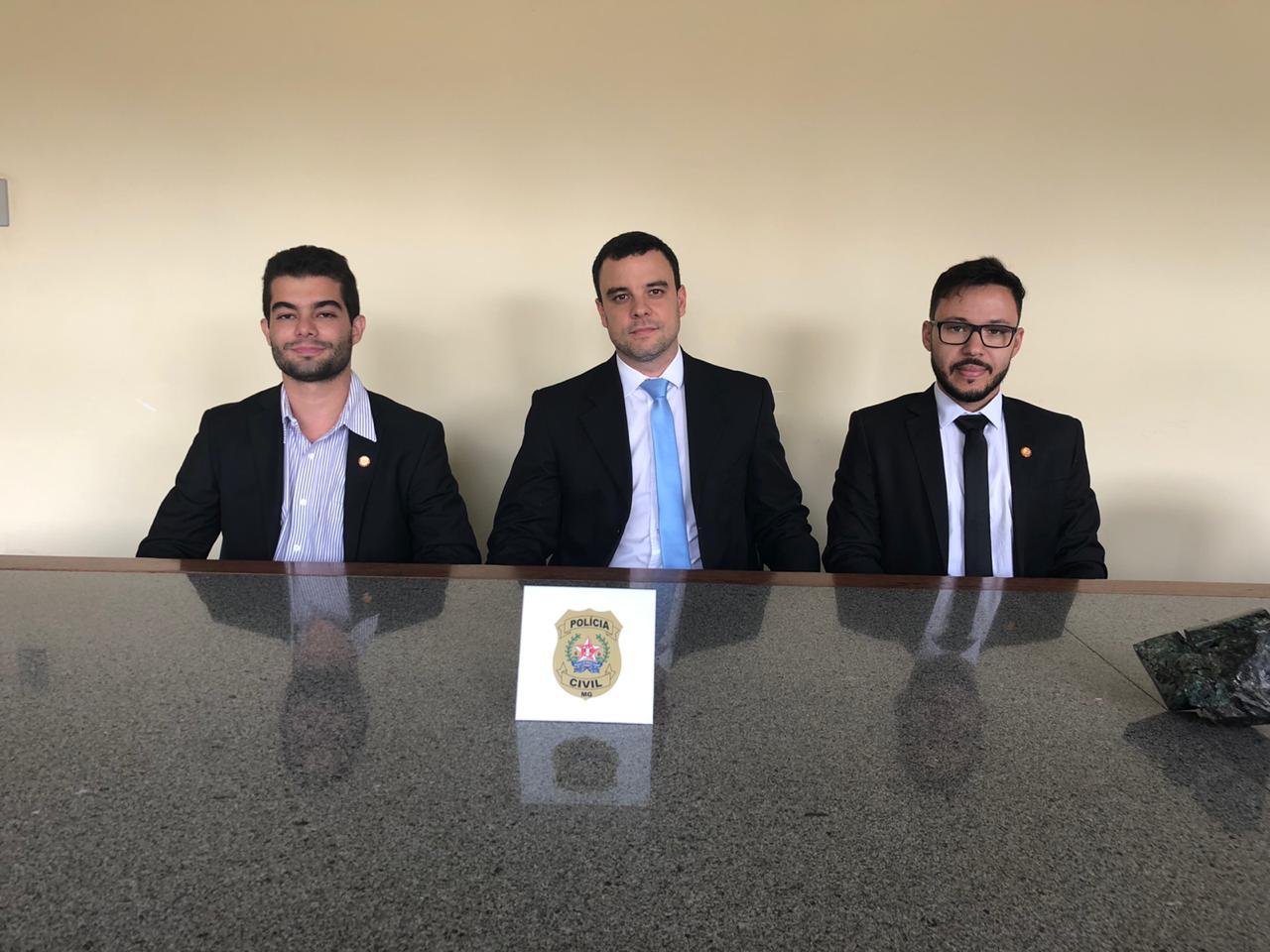 Delegacia Regional da Polícia Civil em Itabira recebe dois novos delegados