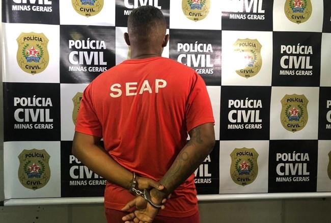 Preso suspeito de 12 homicídios e de comando de tráfico em Santa Bárbara e Catas Altas