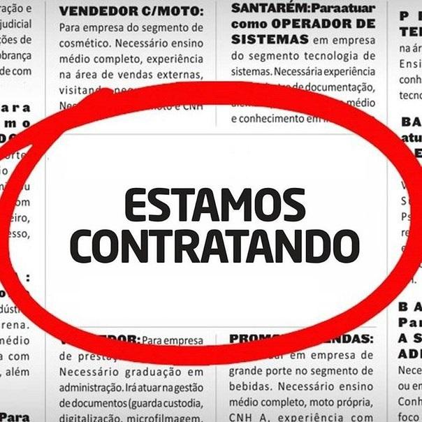 Agência de consultoria tem vagas de emprego para Itabira, João Monlevade e Bom Jesus