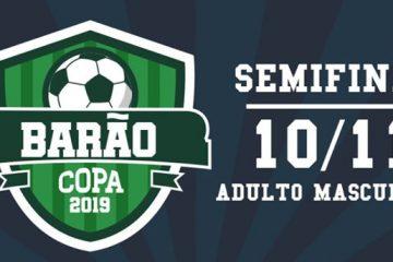 Semifinal da Copa Barão acontece neste domingo