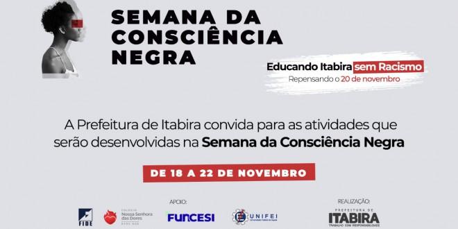 Semana da Consciência Negra é aberta nesta segunda-feira em Itabira - DeFato Online