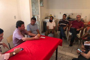Deputados do PT visitam Monlevade e defendem candidatura própria à Prefeitura