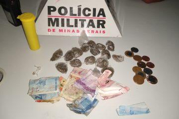 Seis são presos durante ocorrência de tráfico de drogas em Itabira