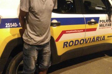 Homem que estava foragido é preso pela Polícia Rodoviária em Itabira