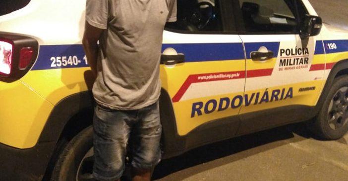 Homem que estava foragido é preso pela Polícia Rodoviária em Itabira - DeFato Online