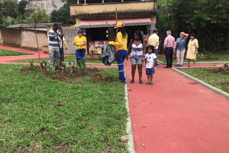 Programa Cidade Viva revitaliza mais uma praça em Itabira