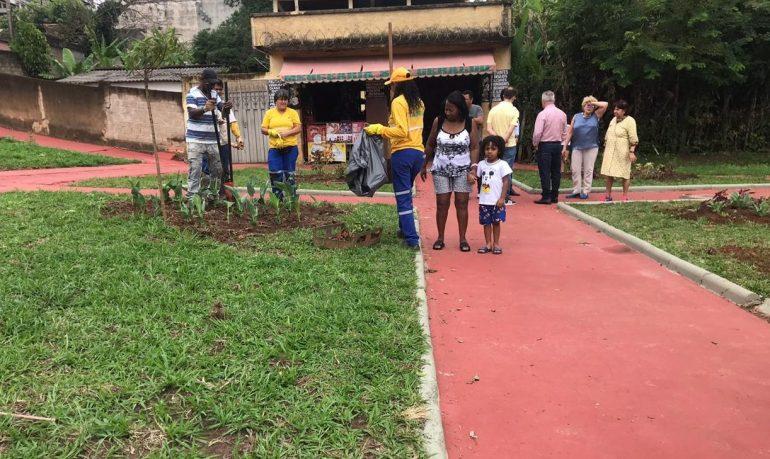 Programa Cidade Viva revitaliza mais uma praça em Itabira - DeFato Online