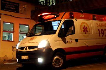 Capotamento na rodovia Luiz Menezes deixa casal ferido