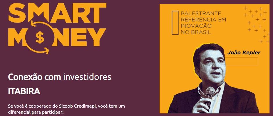 Sicoob Credimepi e parceiros trazem a Itabira João Kepler, um dos maiores investidores anjo do Brasil - DeFato Online