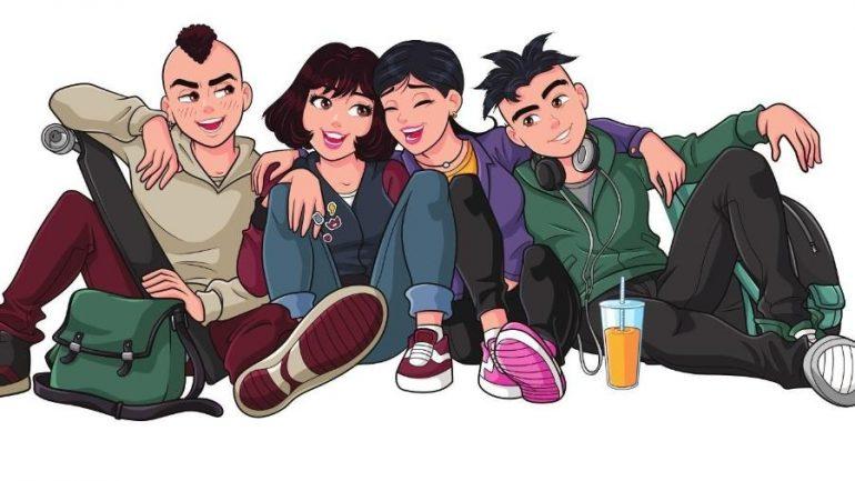 Tirinhas digitais reúnem a Turma da Mônica Jovem e personagens do Cartoon Network