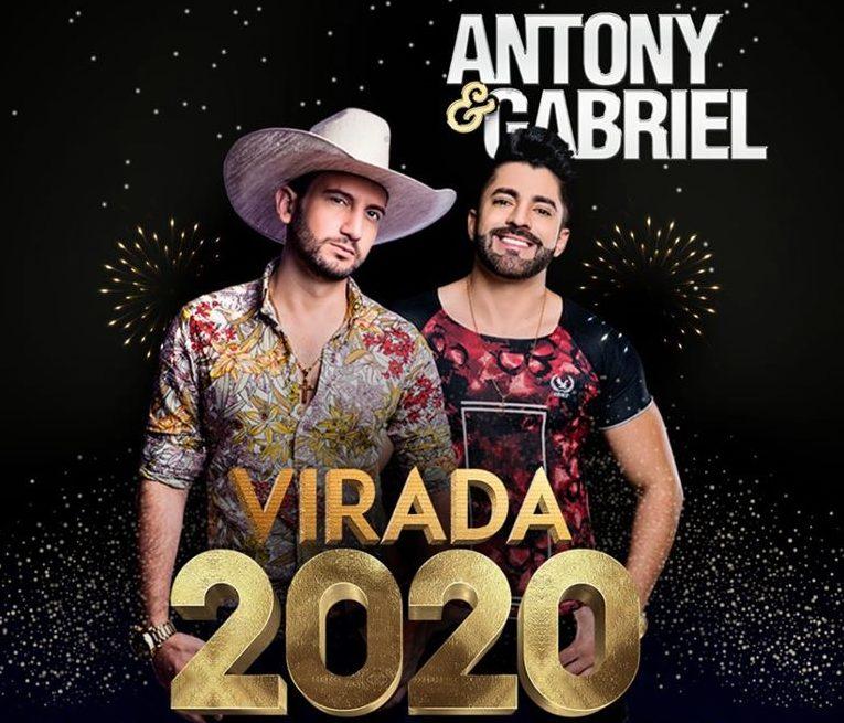 Barão de Cocais terá show de Antony e Gabriel na virada do ano