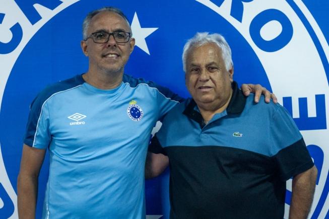 Monlevadense Éder Bastos é o novo técnico do sub-17 do Cruzeiro