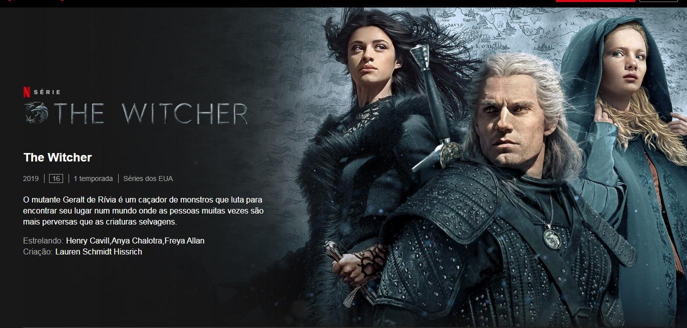 Série The Witcher já está disponível na Netflix