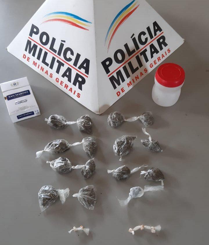 Casal é preso por tráfico de drogas em Bela Vista de Minas
