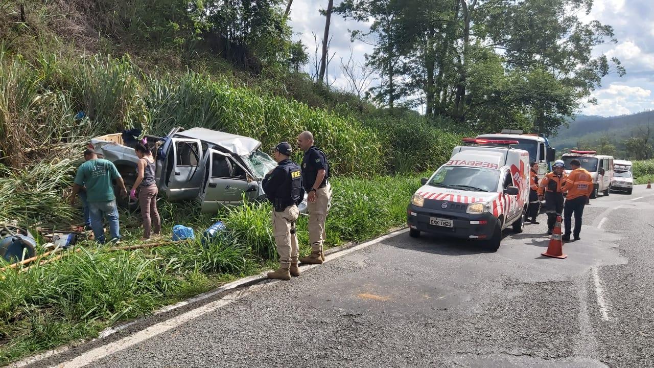 PRF registra grave acidente entre Bela Vista e Monlevade