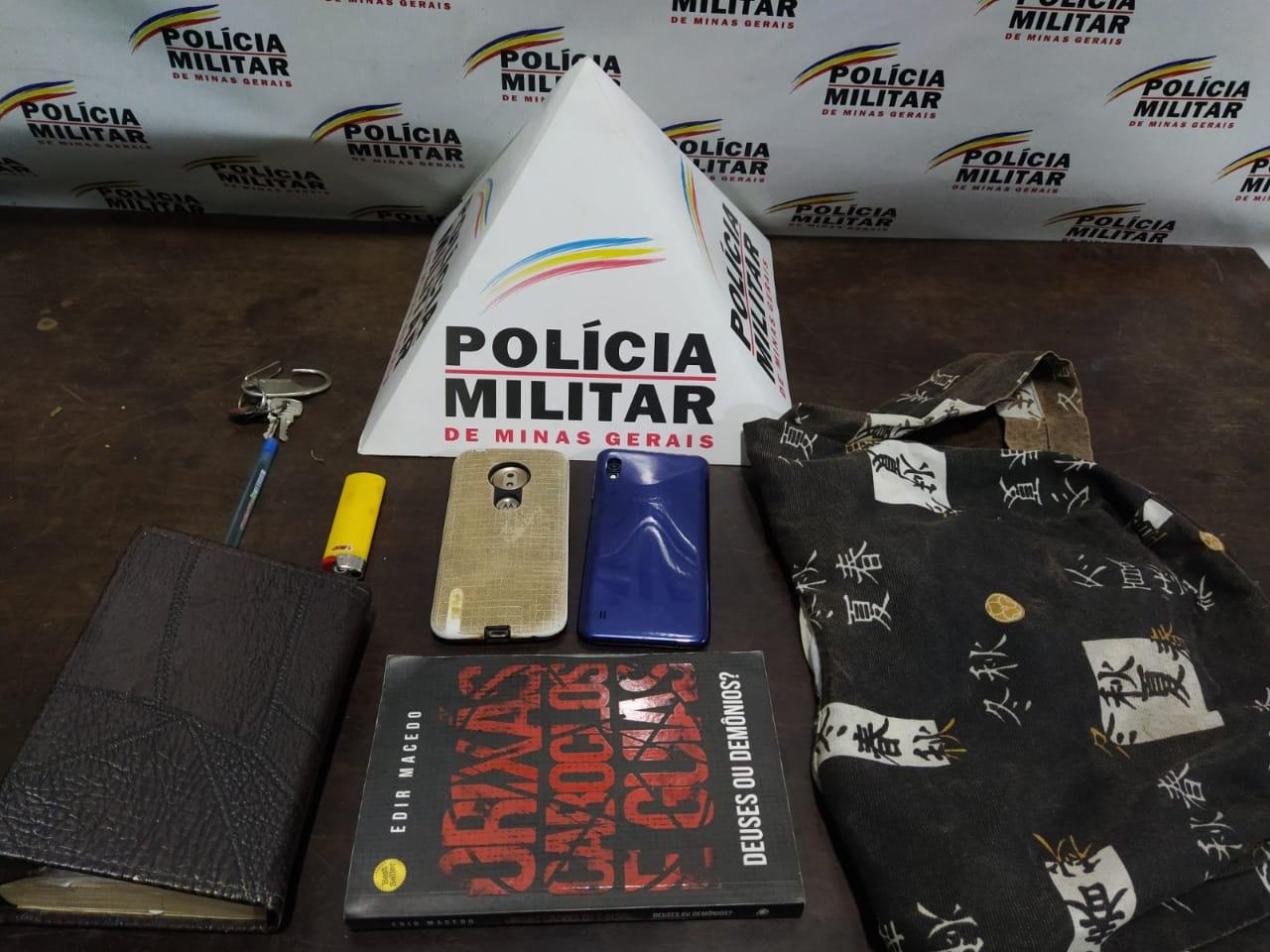 PM prende autor por roubo e recupera materiais furtados em Santa Bárbara