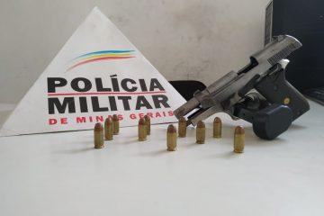 Polícia evita homicídio e prende dupla armada no bairro Campestre