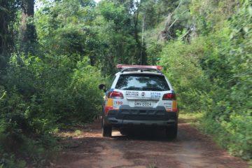 Carro roubado é encontrado abandonado na estrada de Itambé do Mato Dentro