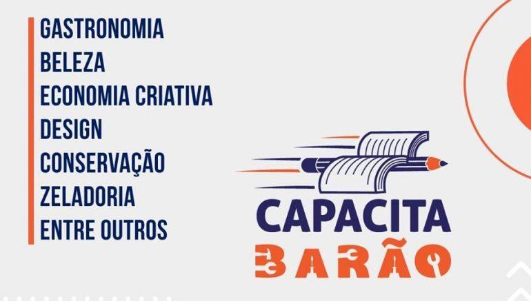 Barão prepara cursos de capacitação com até 400 vagas