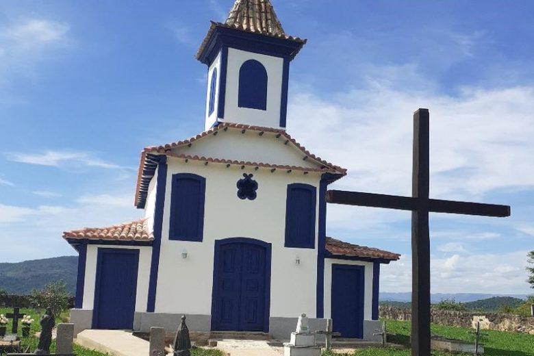Capela histórica de distrito conceicionense tem restauração finalizada