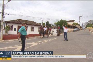 """Ipoema é tema do programa """"Partiu Verão"""" da Globo Minas"""