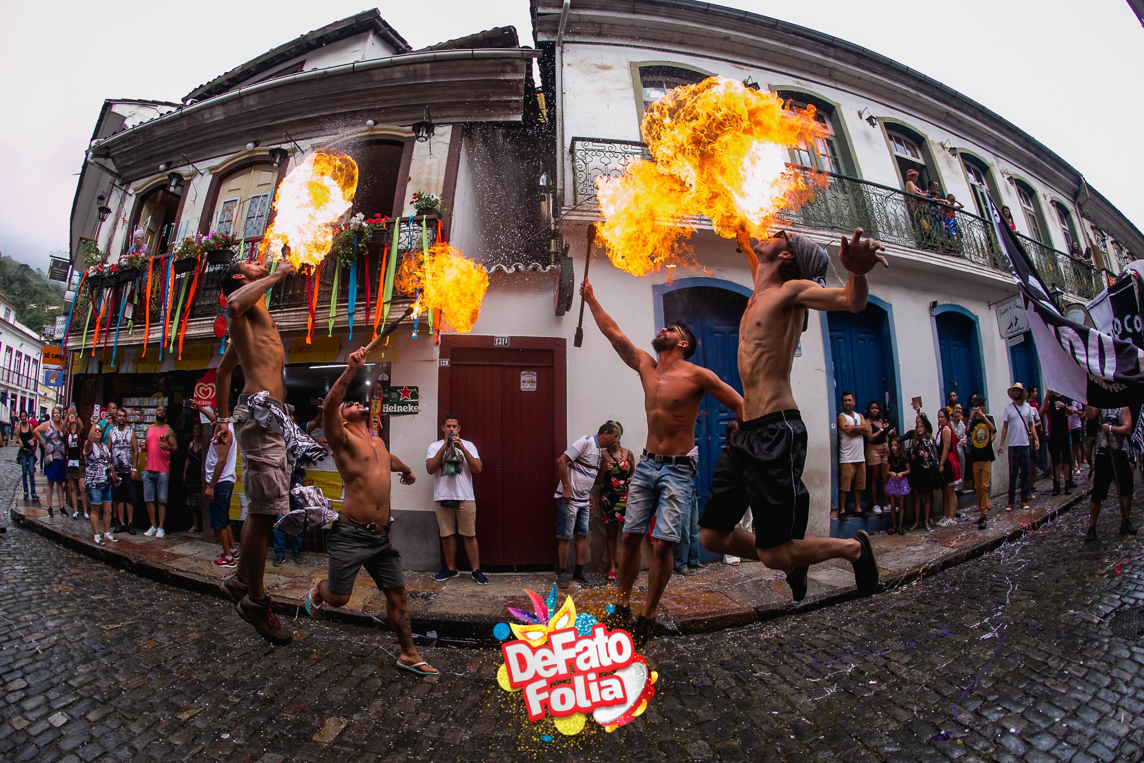 O Carnaval de Ouro Preto em fotos incríveis