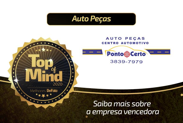 Auto Peças Ponto Certo – empresa Top of Mind 2020