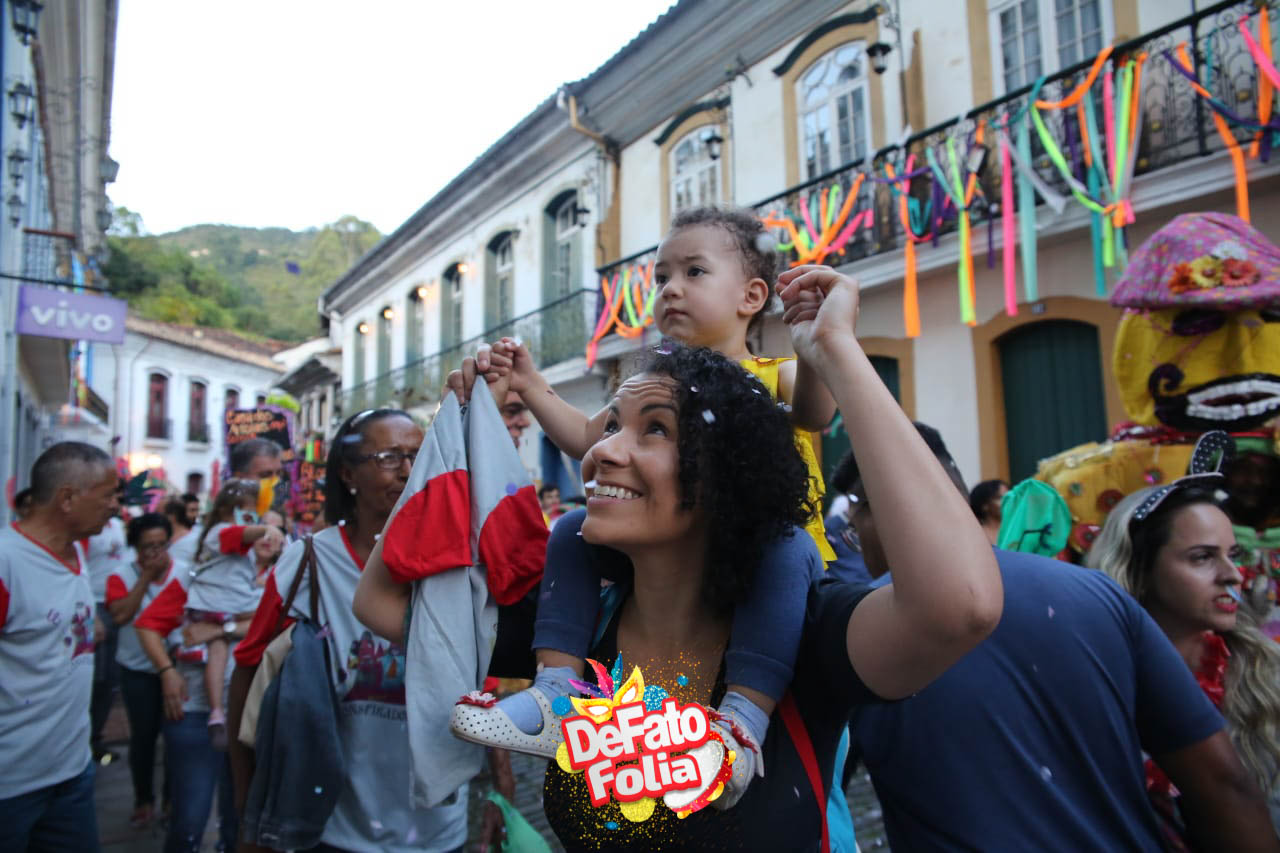 Blocos Conspirados, Vermelho i Branco e Baianas Ozadas em Ouro Preto