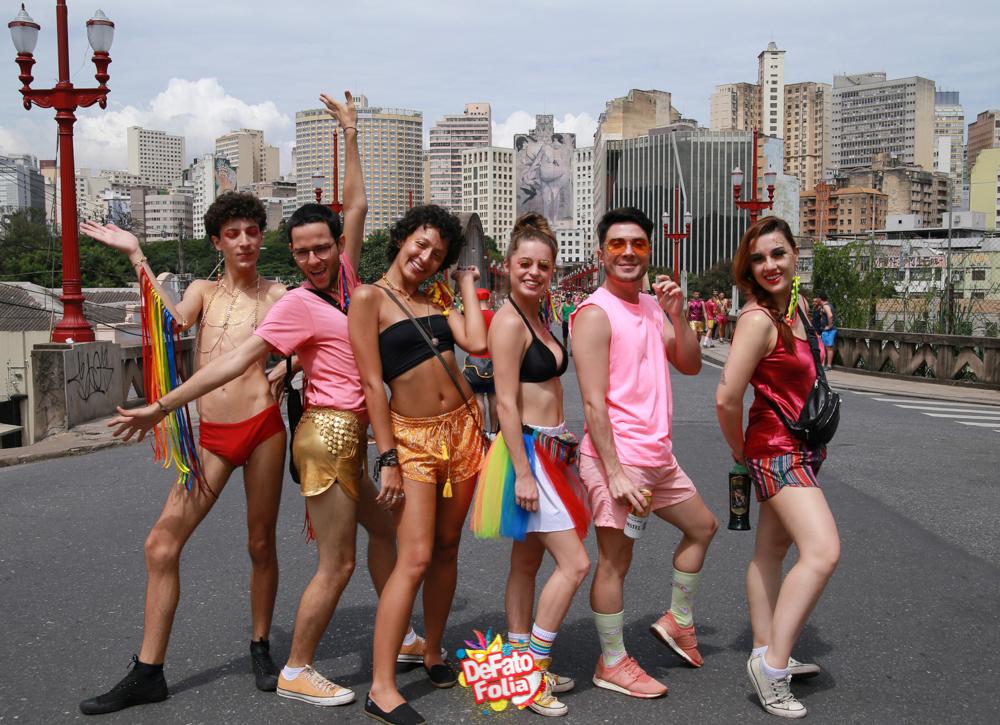 FOTOS: Alegria, fantasia e animação são marcas do Carnaval de BH