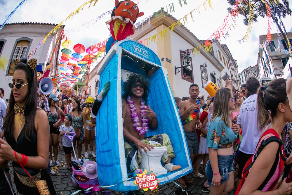 FOTOS: Carnaval de Ouro Preto aposta no resgate de tradições