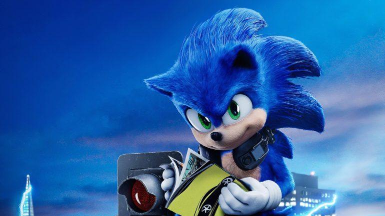 """Espaço Cinemax: """"Sonic – O Filme"""""""