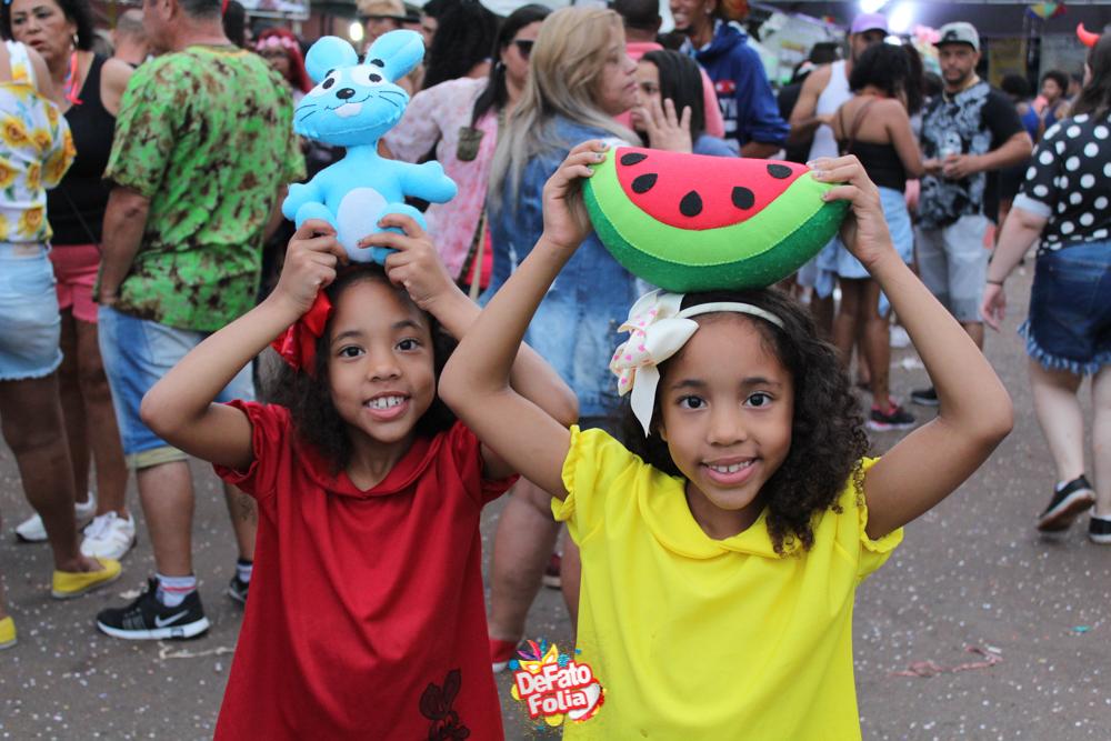 Carnaval na pracinha do Campestre, em Itabira