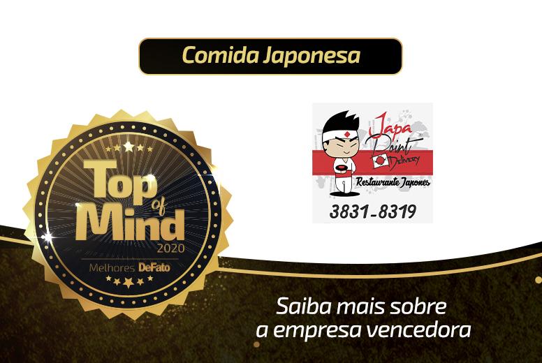 Japa Point – empresa Top of Mind 2020