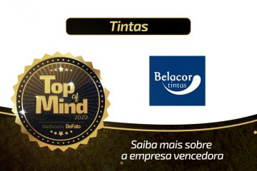 Belacor Tintas – empresa Top of Mind 2020