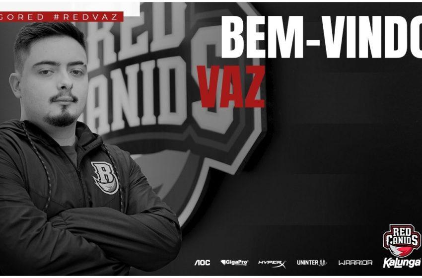 CS:GO: RED Canids anuncia Vaz como novo coach da equipe