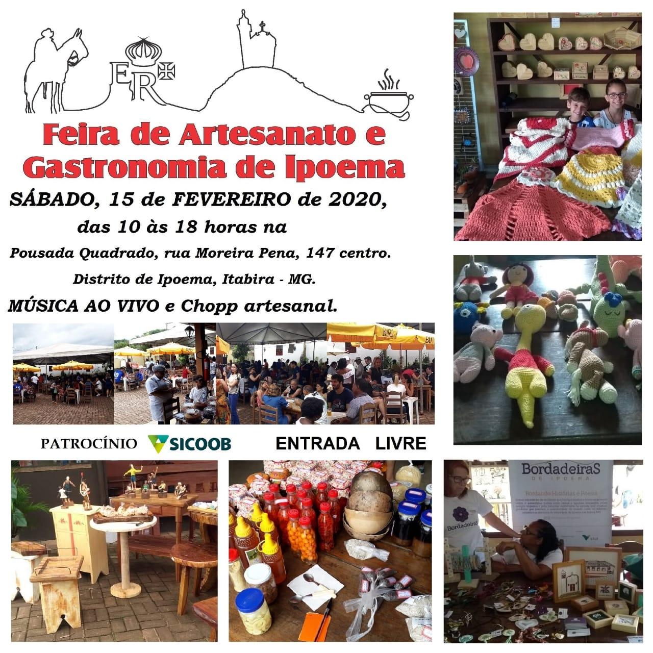 Ipoema tem nova edição da Feira de Artesanato e Gastronomia neste sábado