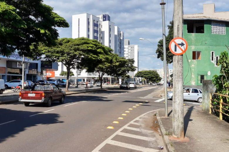 Rua Cambuquira terá mão única a partir desta segunda-feira