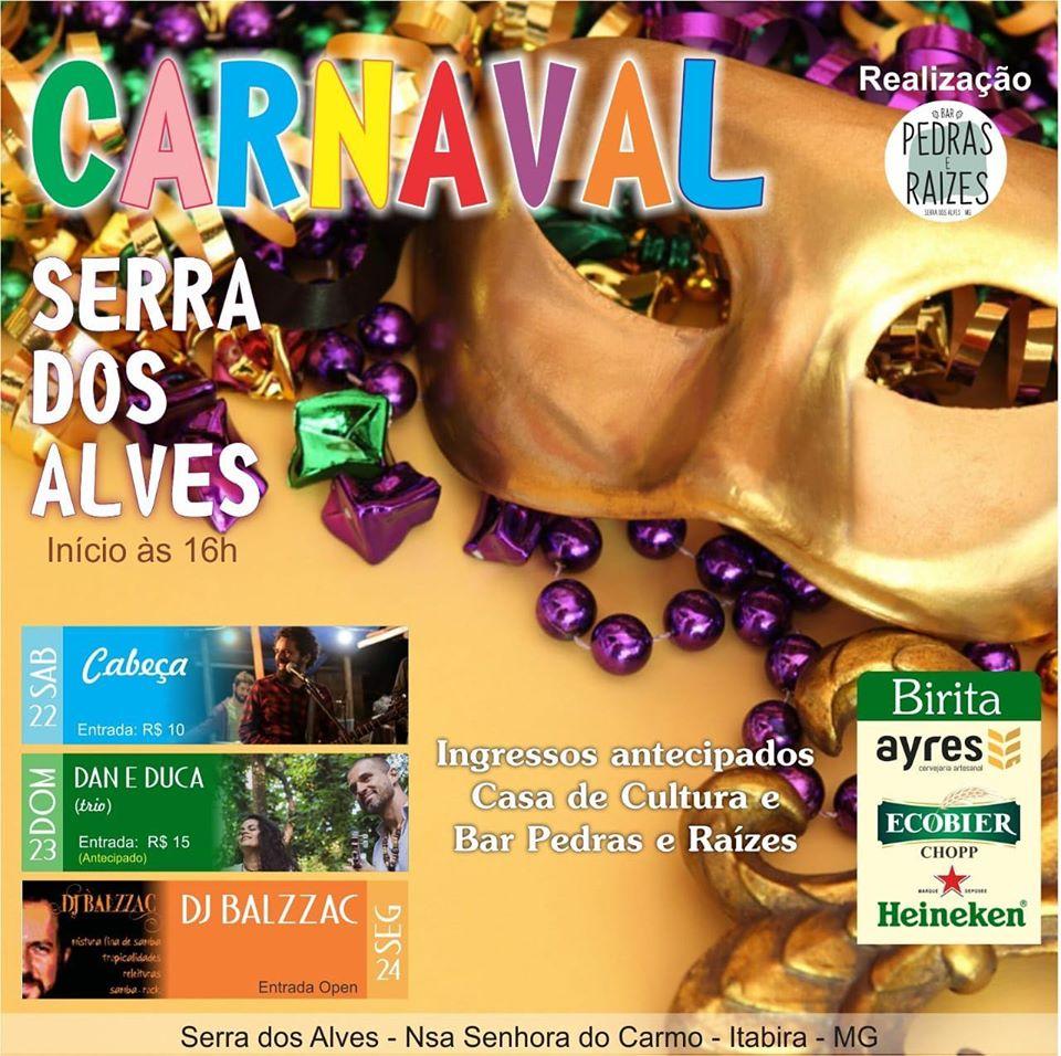 Carnaval na Serra dos Alves