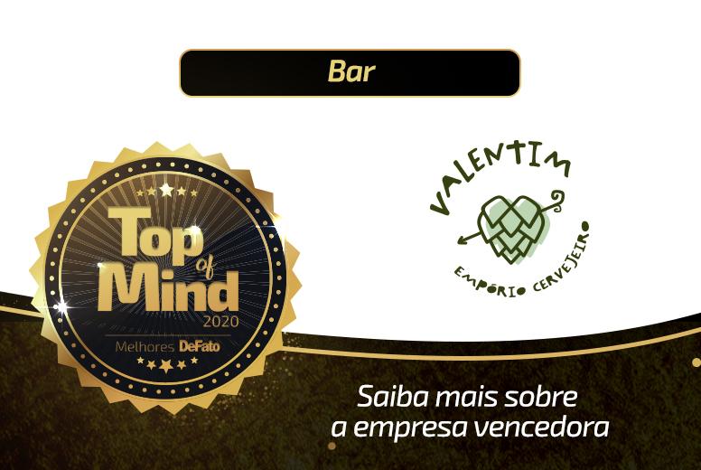 Valentim – empresa Top of Mind 2020